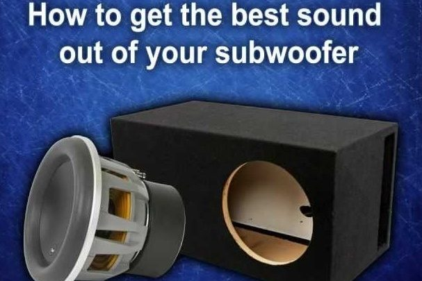 How to get more bass out of your subwoofer?