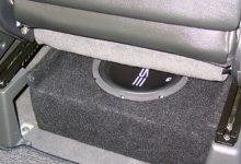 Underseat Subwoofer vs Trunk Subwoofer
