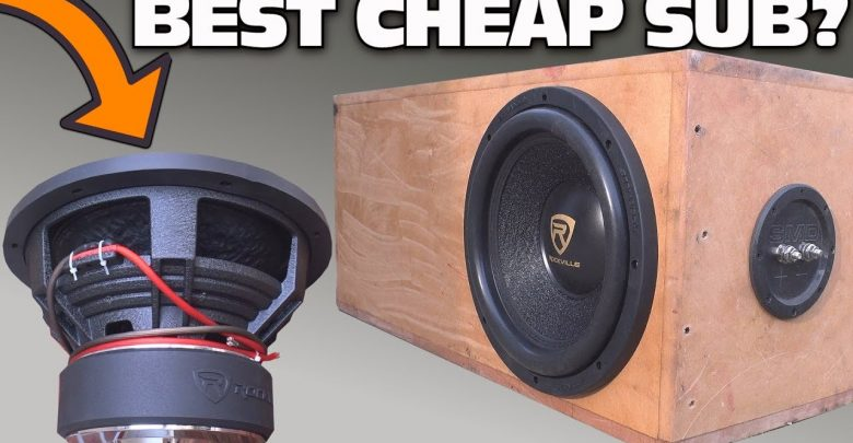 Best Budget 10 Inch Car Subwoofer 2020 Reviews