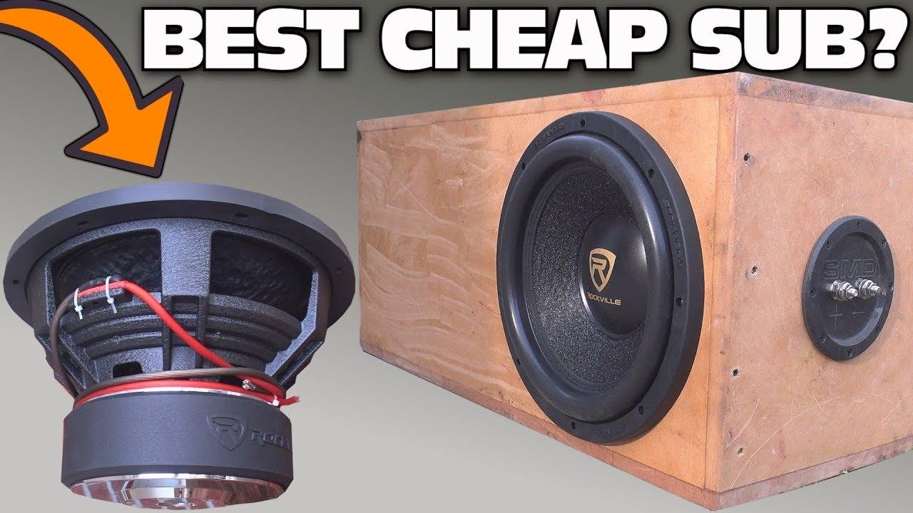 Best Budget 10 Inch Car Subwoofer 2021 Reviews