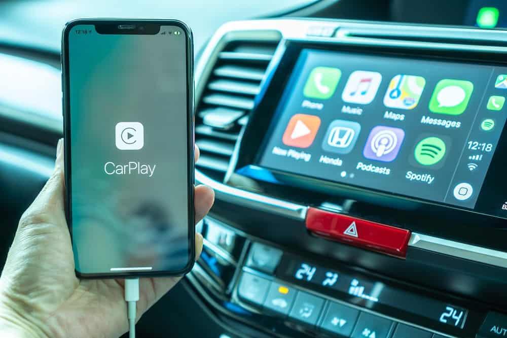 Double Din Car Stereo with Apple Carplay