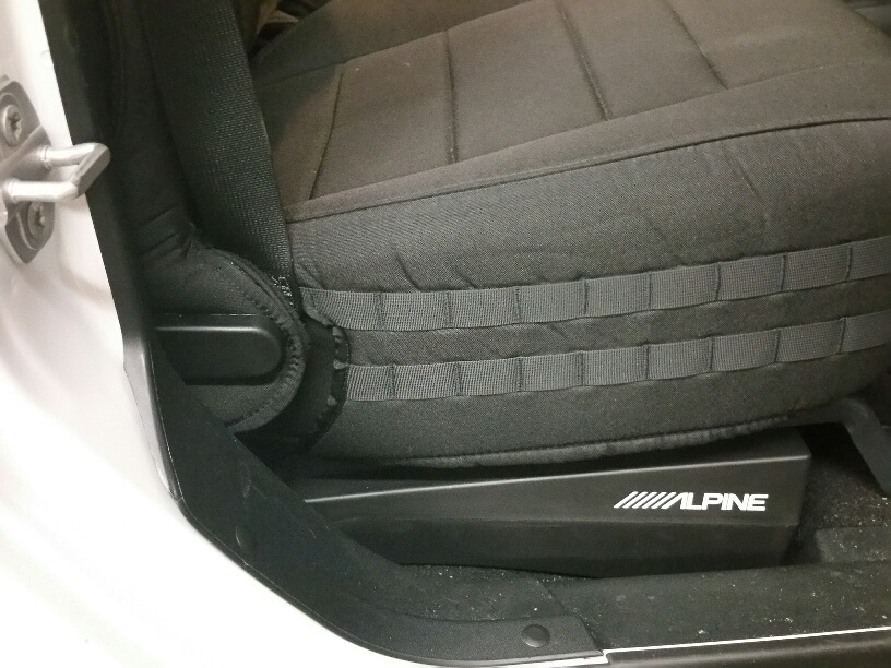 How to Install Amplifier Under Car Seat?
