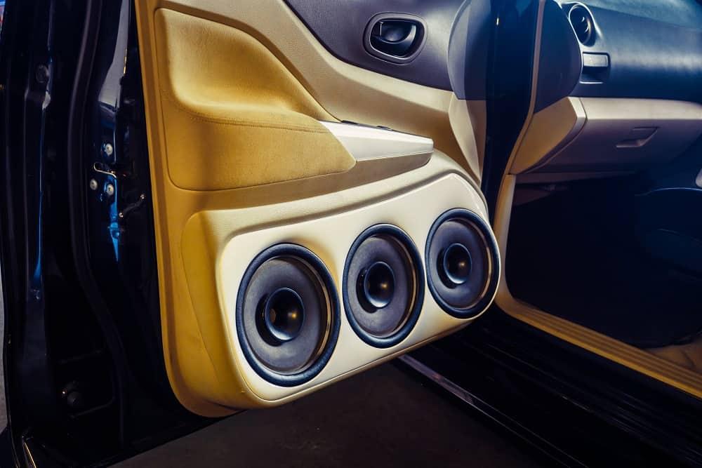 5.25 Inch Component Car Door Speaker