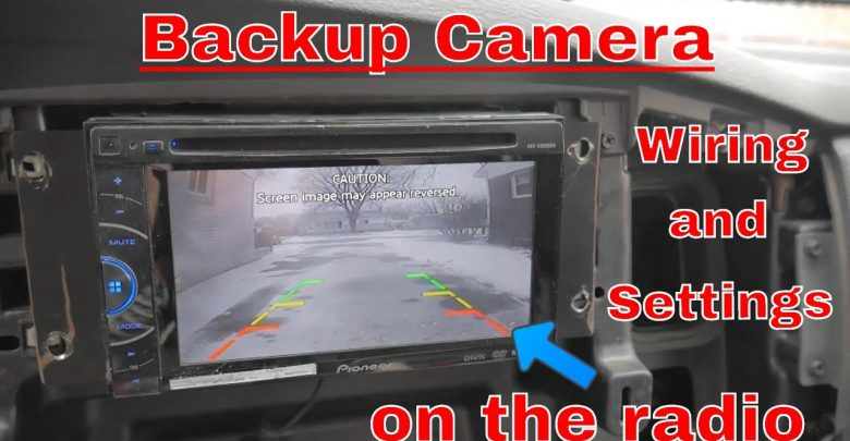 How to Connect Wireless Backup Camera to Head Unit?