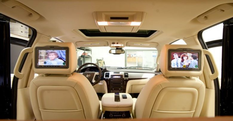 How to Install Dual Headrest DVD Player in Car?