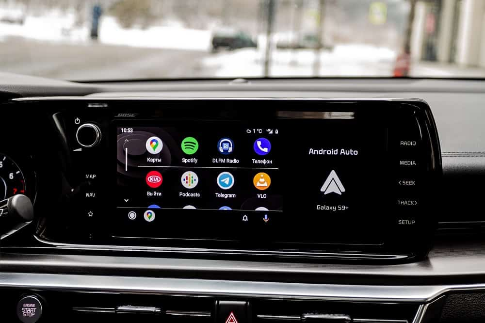 Aftermarket Head Unit with Android Auto