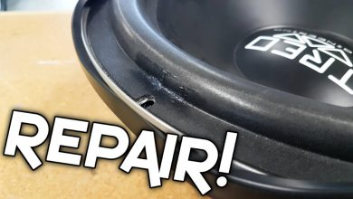 How to Fix a Hole in a Car Subwoofer?