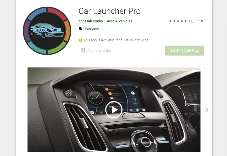 Best App for Android Car Stereo - Car Launcher Pro