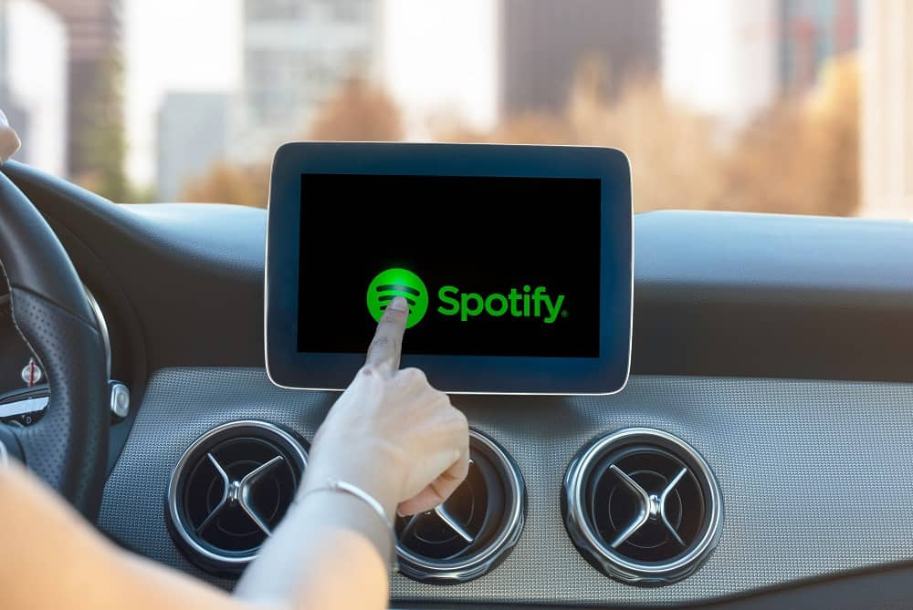 Best Apps for Android Car Stereo - Spotify