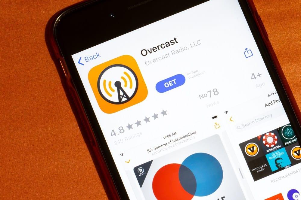 Apps for Apple Carplay Stereo - Overcast