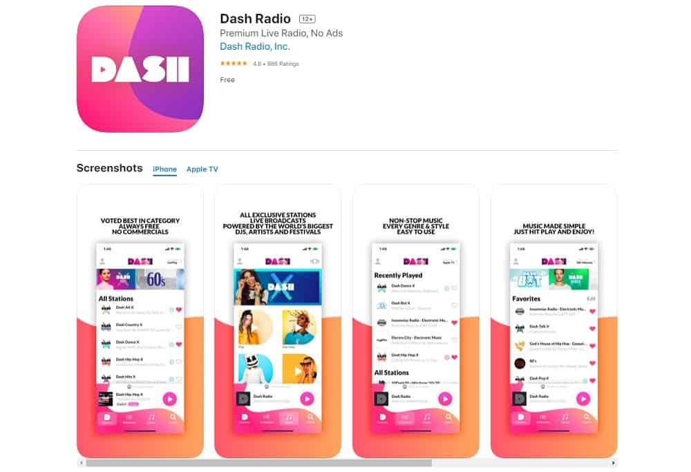 Best Apps for Apple Carplay Stereo - Dash Radio