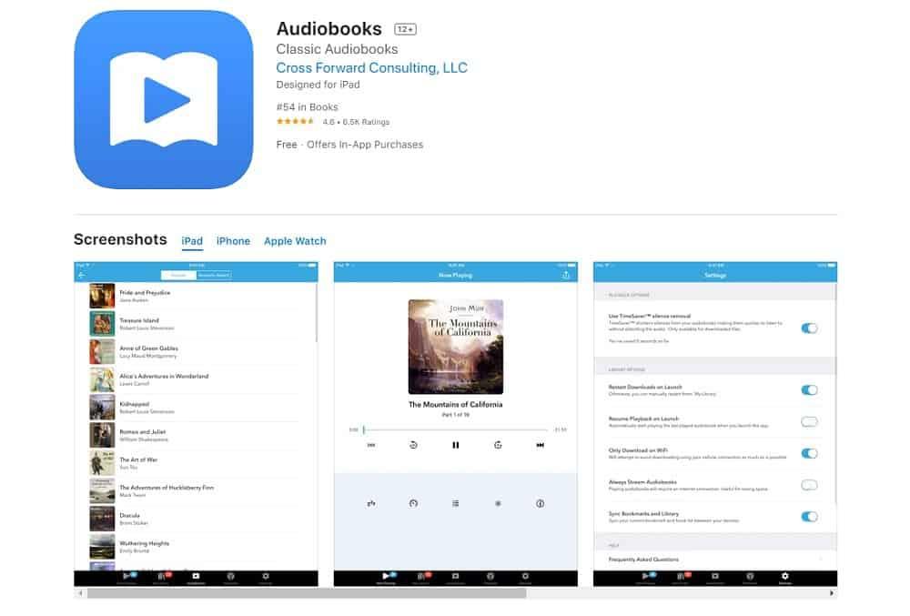 Best Apps for Apple Carplay Stereo - Free Audiobooks