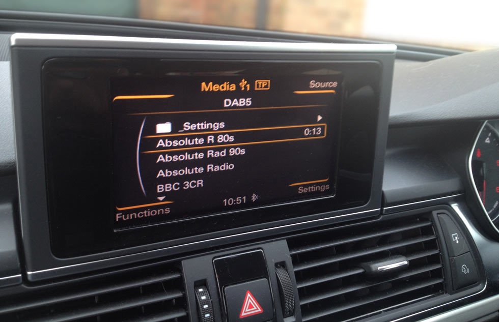 How do I get DAB Radio in my Mercedes?