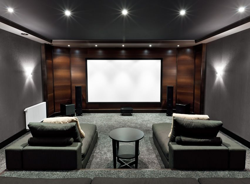 How to block excess light in home theater room?