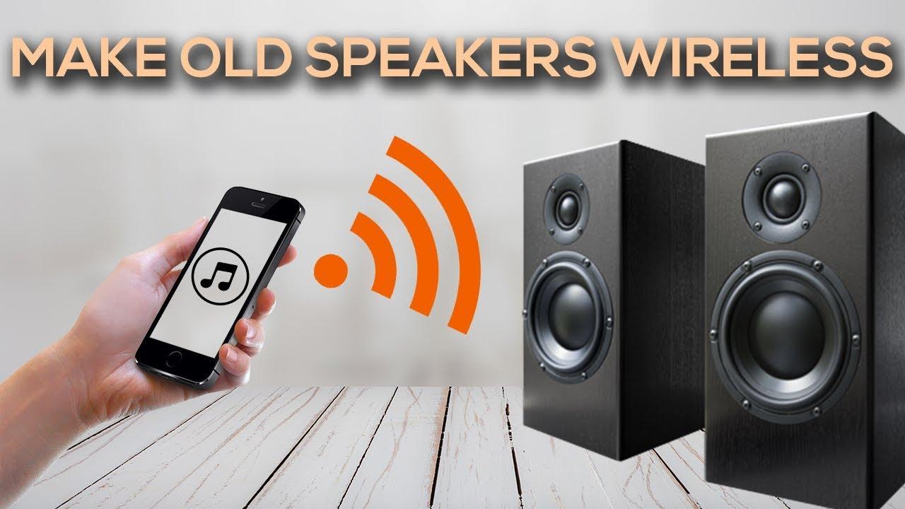 How to Make Regular Speakers Wireless?
