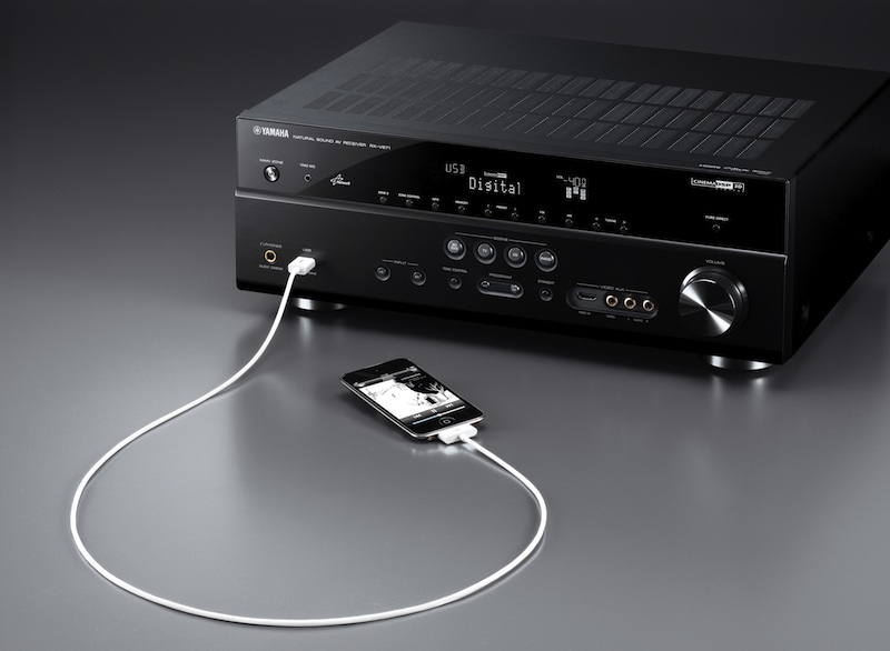 How to Connect iPhone to Yamaha AV Receiver