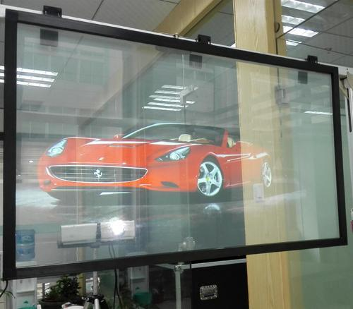 Can a Projector Work on Glass?