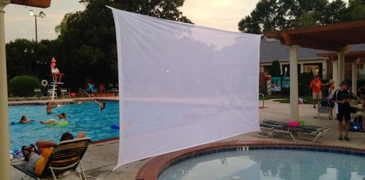 How to Make a Projector Screen With a Sheet?