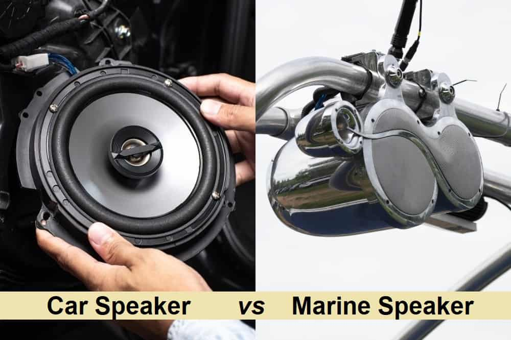 Car Speakers vs. Marine Speaker - Construction Material