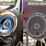 Difference between Car Speakers and Marine Speakers