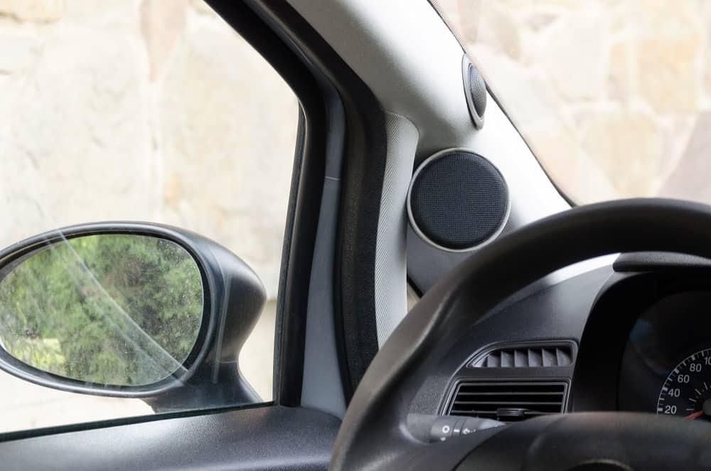 Car Tweeter Placement