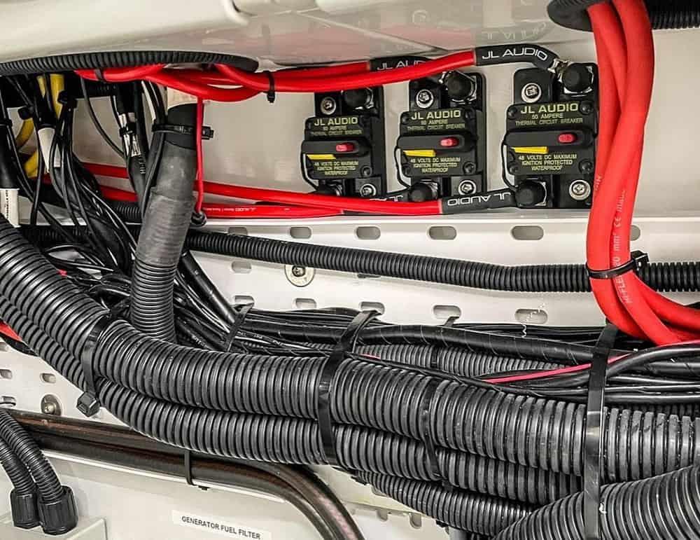 Marine Speaker Wiring